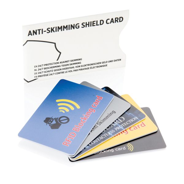 Anti-skimming suojaava kortti