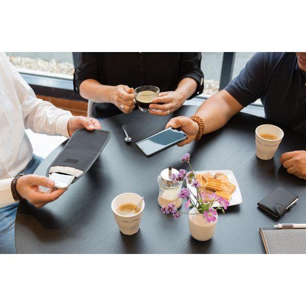 Pochette téléphone anti-ondes - ISOCOM - OBJETS ET TEXTILES PERSONNALISES - NANTES