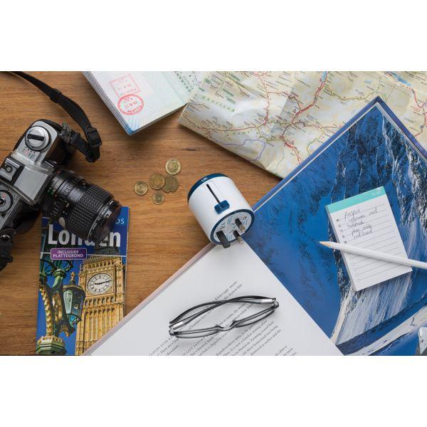 Set d'adaptateurs de voyage Travel Blue