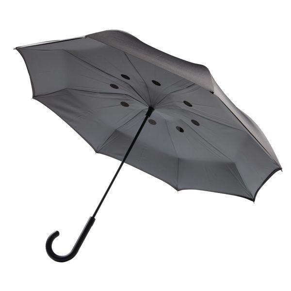 """Parapluie réversible 23"""", Objet personnalisable, comité social économique"""