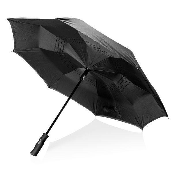 """Parapluie réversible Swiss Peak 23"""", Objet personnalisable, comité social économique"""