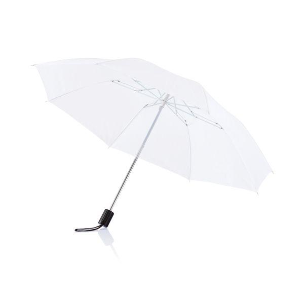 """Deluxe 20"""" taitettava sateenvarjo"""