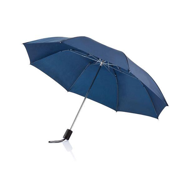 """Parapluie pliable 20"""" Deluxe, Objet personnalisable, comité social économique"""