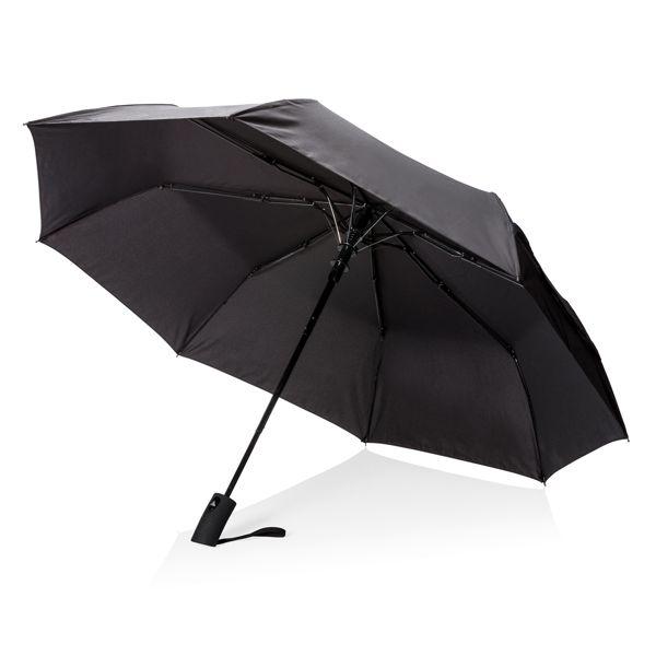 Parapluie pliable 21'' avec ouverture automatique, Objet personnalisable, comité social économique