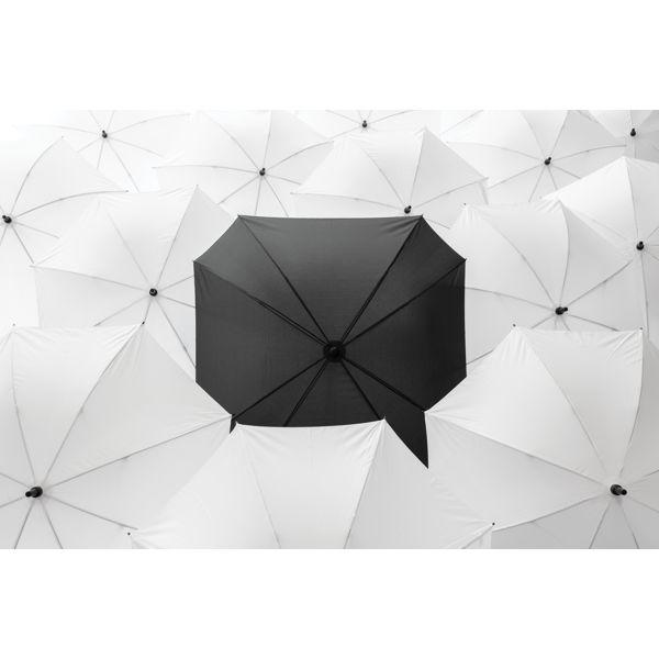 """27"""" manual XL logo space square umbrella ADLANTIC IE SALES LTD WICKLOW A98 D282"""