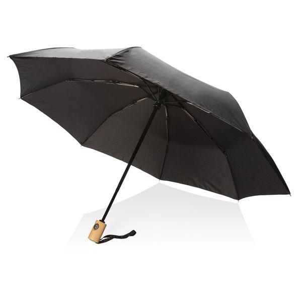 """Parapluie automatique pliable 21"""" en rPET, Objet personnalisable, comité social économique"""