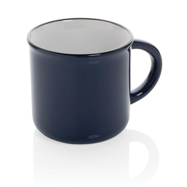 Mug céramique vintage, Objet personnalisable, comité social économique
