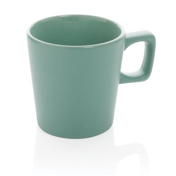 Tasse à café céramique au design moderne, Objet personnalisable, comité social économique