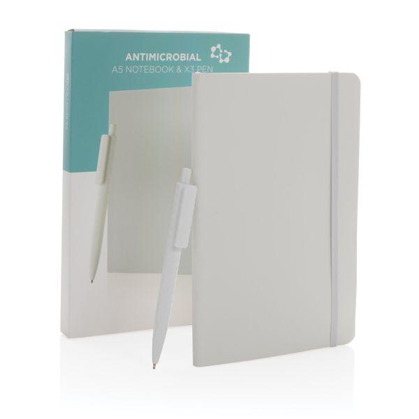 Antimikrobielles A5 Softcover Notizbuch mit X3 Stift ANDRANG GmbH Bahnhofstrasse 54 71332 Waiblingen XINDAO BV