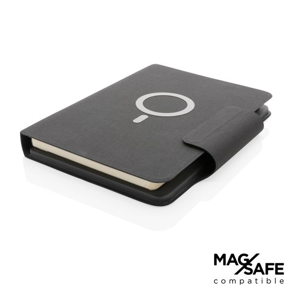 Carnet de notes A5 avec chargeur magnétique 10 W Artic