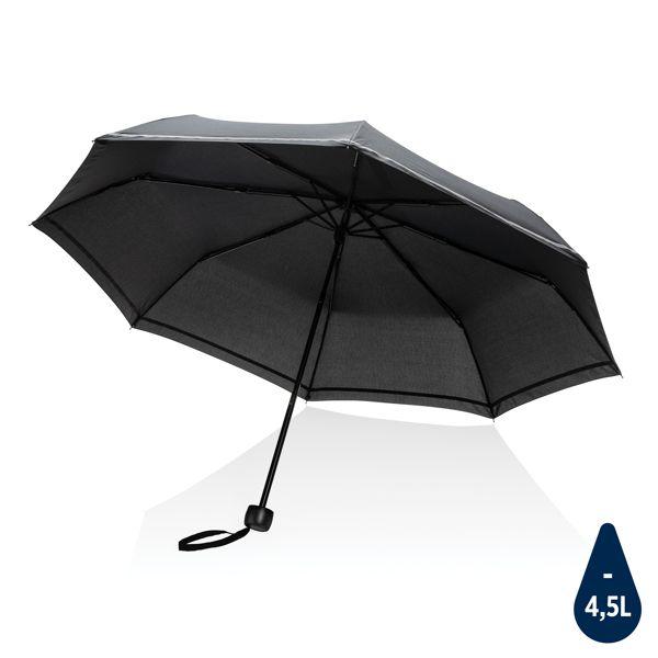 """Mini parapluie 20.5"""" rPET 190T réfléchissant Impact AWARE™"""