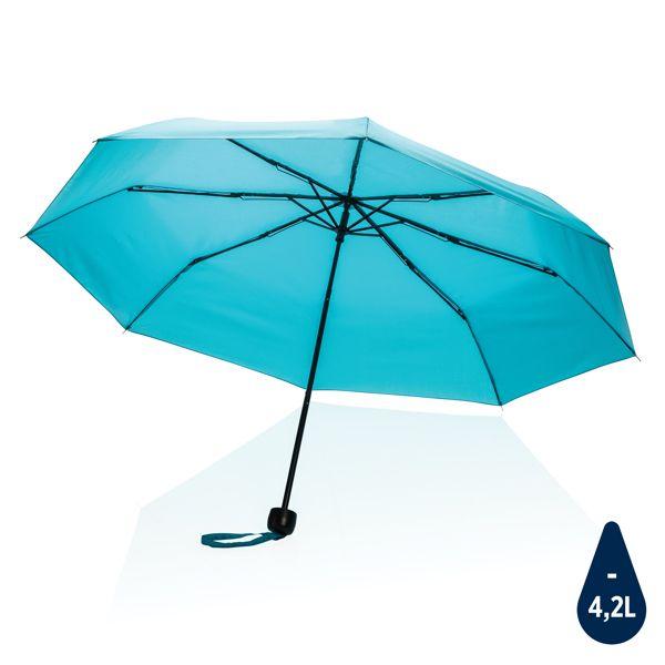 """Mini parapluie 20.5"""" en rPET 190T Impact AWARE™, Objet personnalisable, comité social économique"""