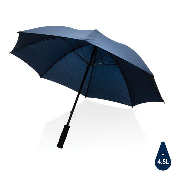 """Parapluie tempête 23"""" en rPET 190T Impact AWARE™, Objet personnalisable, comité social économique"""