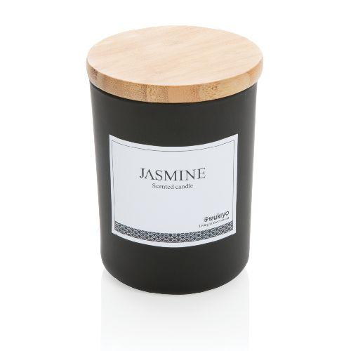 Bougie parfumée avec couvercle en bambou Ukiyo