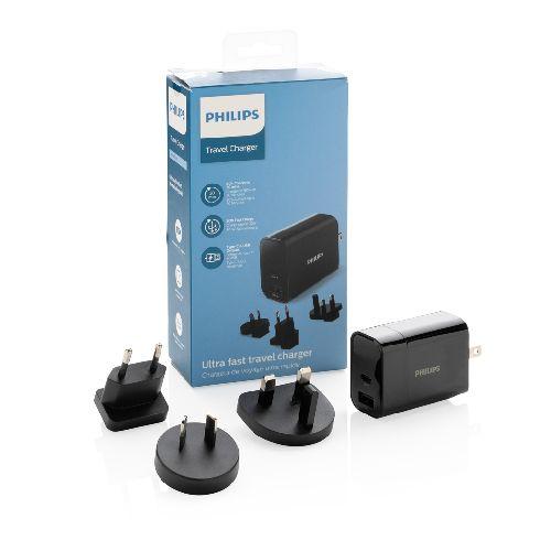 Chargeur USB de Voyage Philips, USB 30W Ultra Rapide