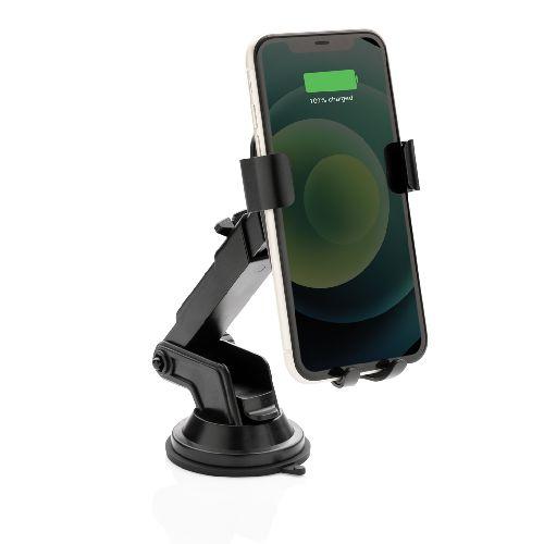 Support Téléphone Voiture Pivotant Philips avec Chargeur 10W