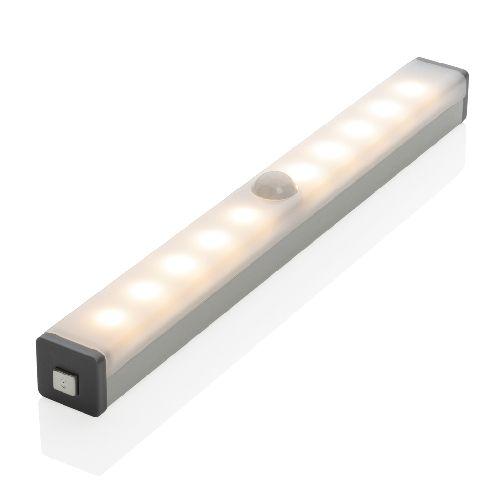 Luz LED mediana con sensor de movimiento recargable por USB