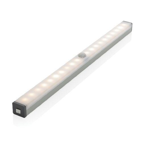 Luz LED grande con sensor de movimiento recargable por USB