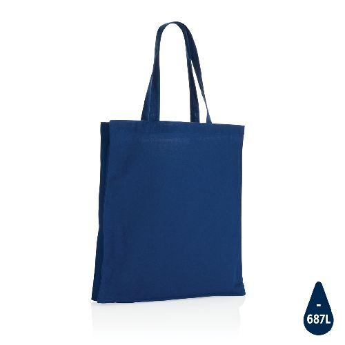 Sac tote en coton recyclé avec fond amovible Impact AWARE™, Objet personnalisable, comité social économique