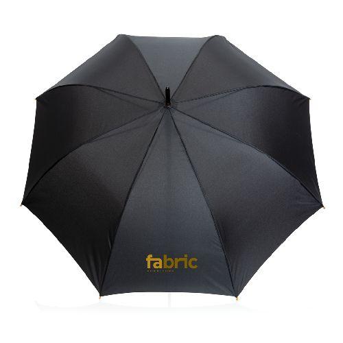 """Parapluie 27"""" en rPET et bambou ouverture auto Impact AWARE™"""