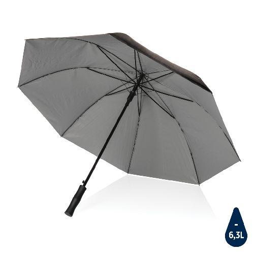 """Parapluie 27"""" rPET bi couleur ouverture auto Impact AWARE™, Objet personnalisable, comité social économique"""
