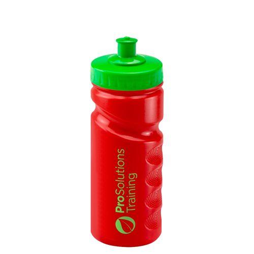 Sports Drinking Bottle 500ml (Fingergrip)