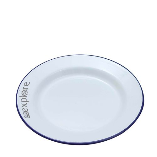Enamel Dinner Plate (24cm)