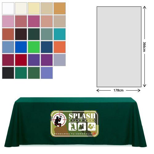 Fabric Rectangular Tablecloth (178 X 366cm) *