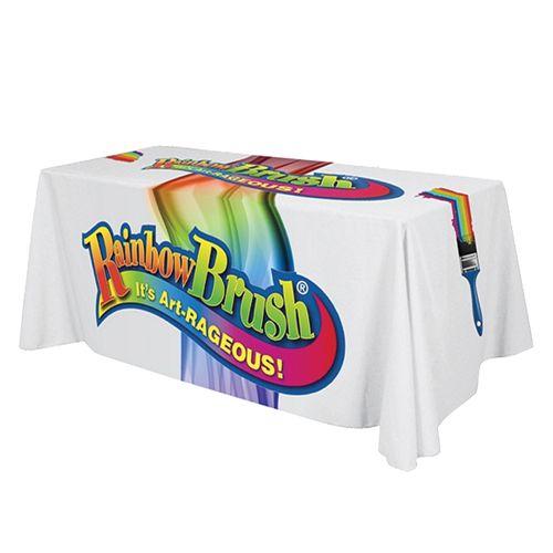 Full Colour, Full Coverage Table Cloth - 229 X 366cm
