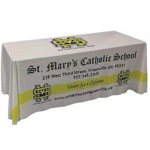 Full Colour, Full Coverage Table Cloth - 137 X 274 cm