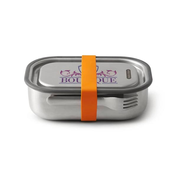 Stainless Steel Lunch Box Large - black+blum
