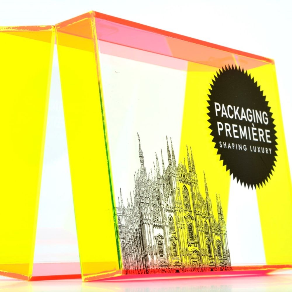 Packaging en plexiglas personnalisable