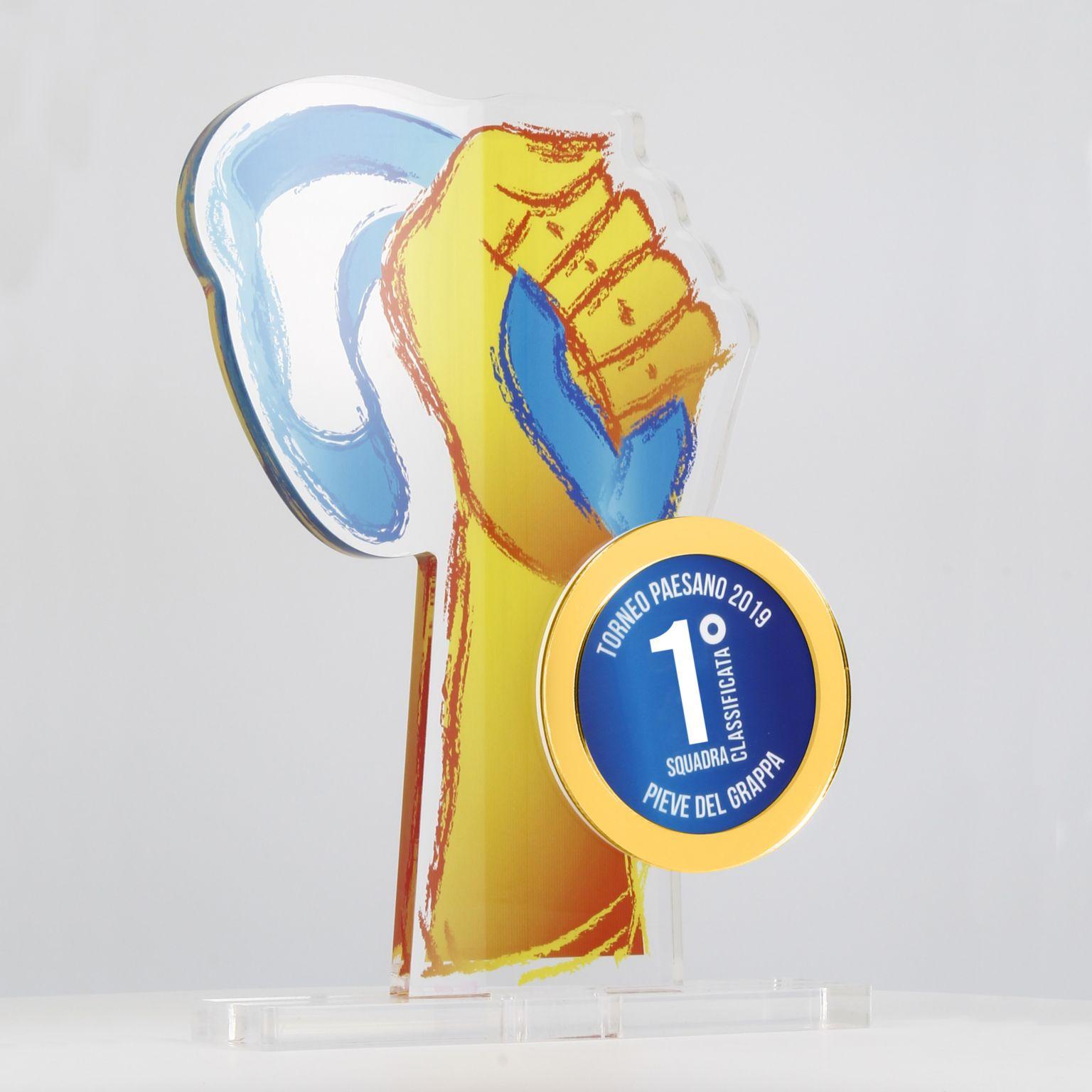Trophées et plaques personnalisables