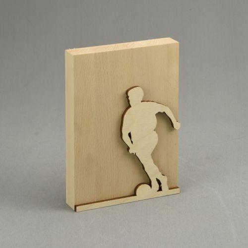 Trophée en bois personnalisable