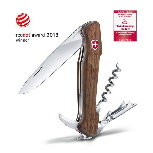 couteau d'officier Wine Master Wood