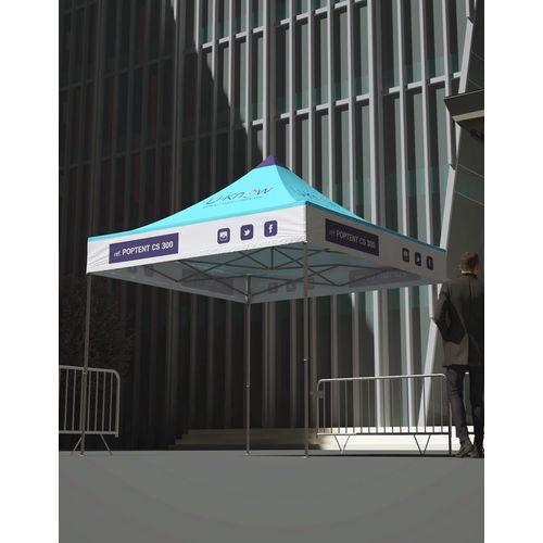 Tente Eco Acier 3 x 3m objet publicitaire original