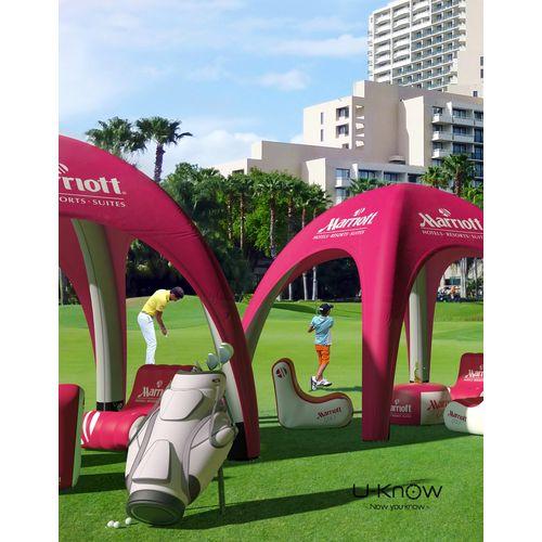 Tente Gonflable 4X4M objet publicitaire original