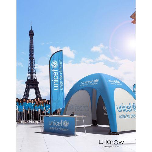Tente Gonflable 6X6m objet publicitaire original