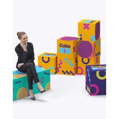 Cube En mousse 40x40x40cm