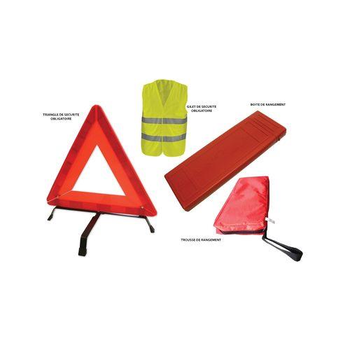 WK120 - Kit De Securité (gilet + triangle) WK120