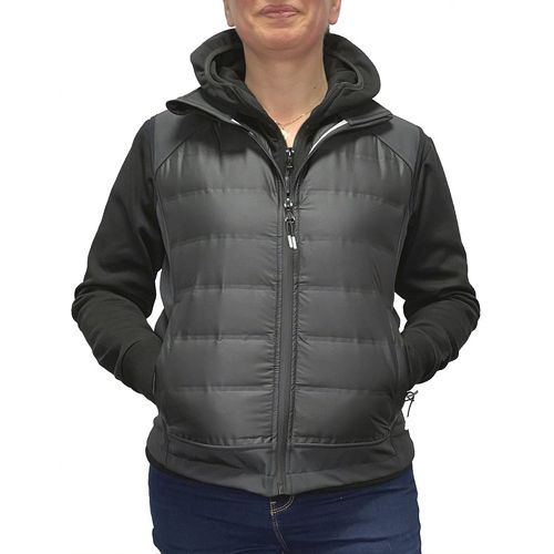 GAMMA - Bodywarmer Hybride Femme Softshell-Doudoune