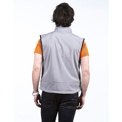 CARBONE - Bodywarmer Softshell 3 Couches personnalisé  goodies objets publicitaires