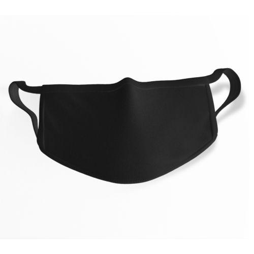 Masque Alternatif réutilisable et lavable Basic coton - NOIR
