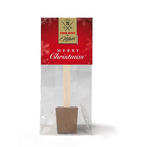 CHOCOLAT CHAUD personnalisation sur l'emballage carton