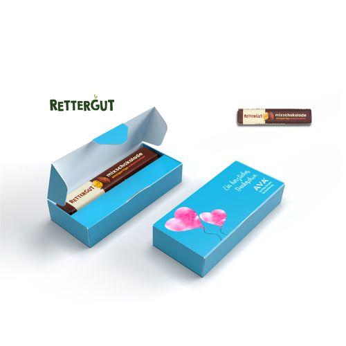 RETTERGUT MÉLANGE DE CHOCOLAT en carton personnalisé