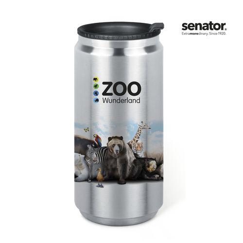 senator®   Pics King Can  vacuum thermo mug