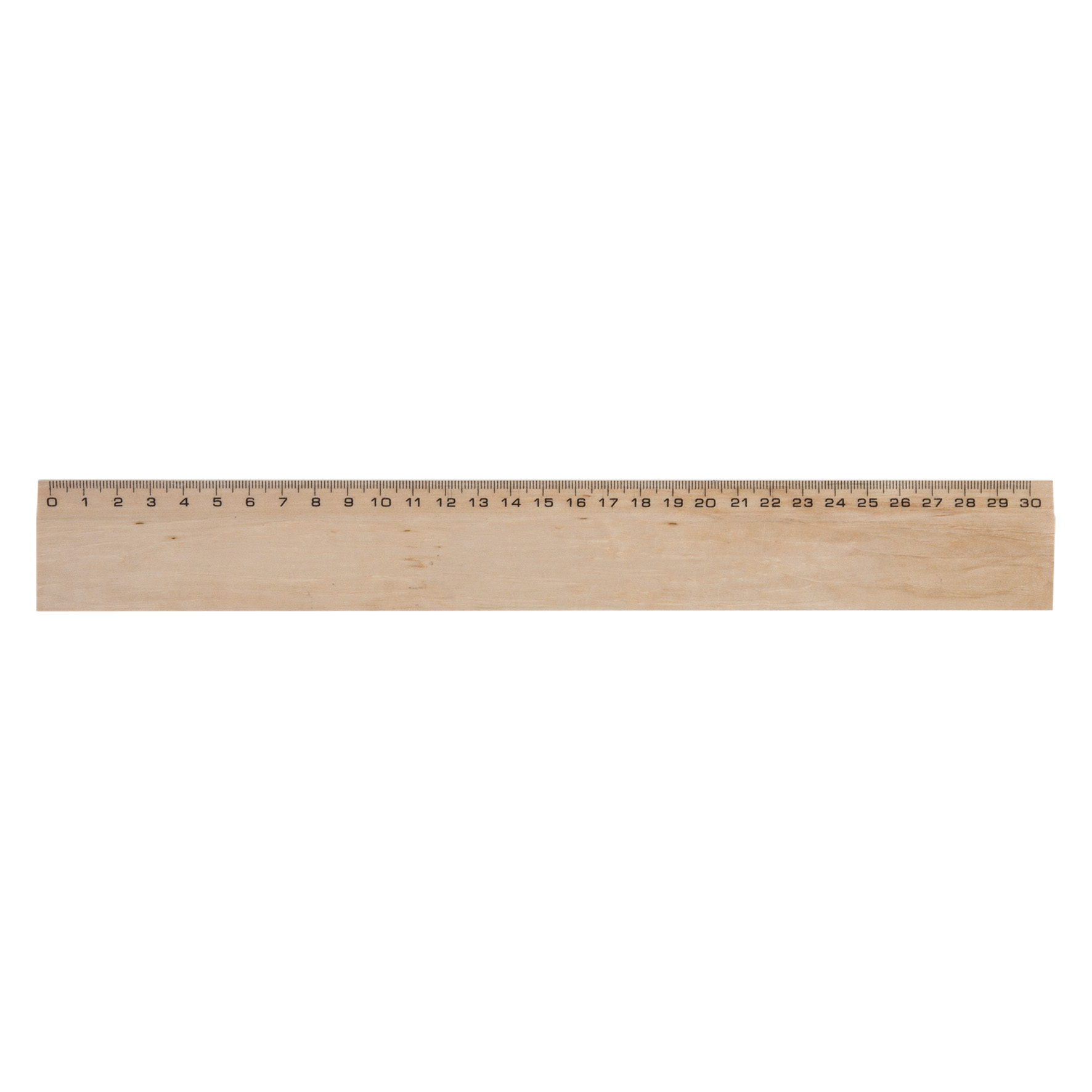 REGLE HETRE 30 cm