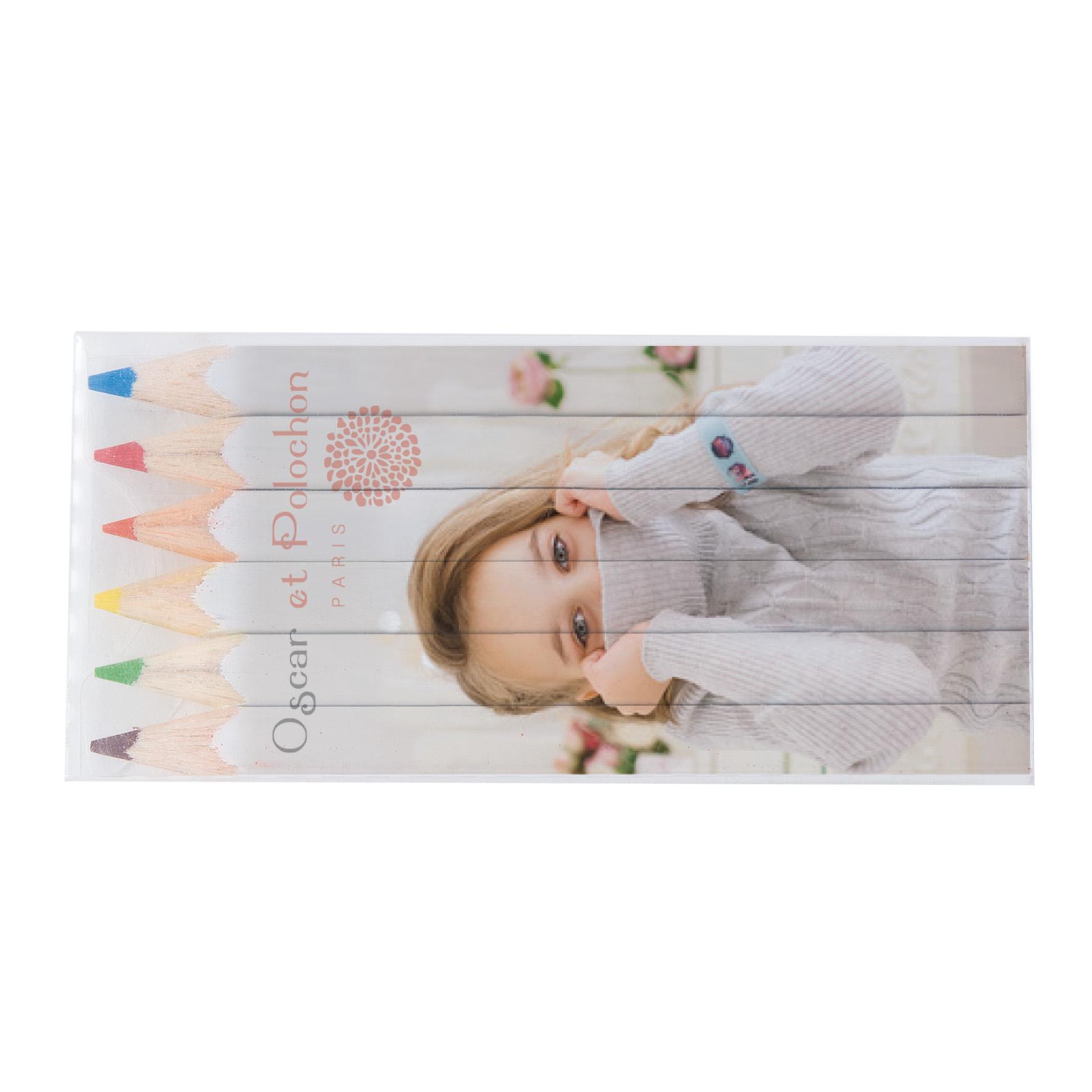 SET QUADRI 6 COUL 8,7 cm Fashion Goodiz goodies objet personnalisé cadeaux d affaire objets publicitaires