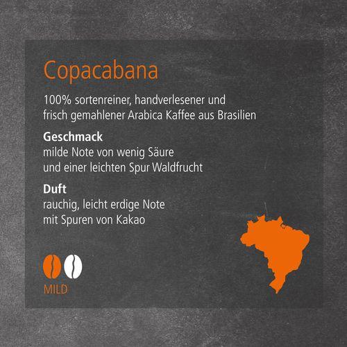 CoffeeBag - Copacabana (Mild) - Individual Design, schwarz ANDRANG GmbH Bahnhofstrasse 54 71332 Waiblingen SANDERS IMAGETOOLS GmbH & Co. KG