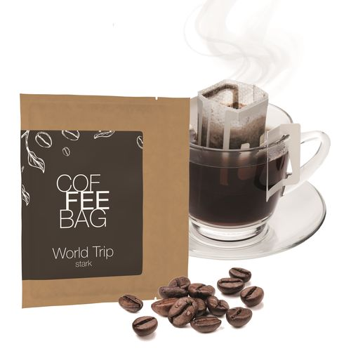 CoffeeBag - World Trip (Stark) - Individual Design, naturbraun ANDRANG GmbH Bahnhofstrasse 54 71332 Waiblingen SANDERS IMAGETOOLS GmbH & Co. KG
